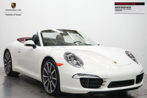 Certified Used Porsche 911 2dr Cabriolet 991 Carrera S