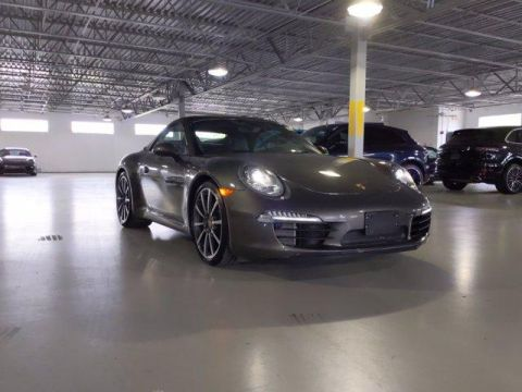 Certified Pre-Owned 2015 Porsche 911 2dr Cabriolet Carrera S RWD Convertible