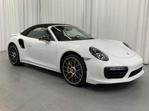 New 2019 Porsche 911 Turbo S Cabriolet With Navigation & AWD