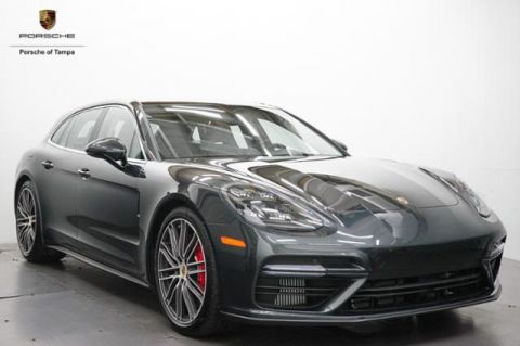 New 2018 Porsche Panamera Turbo Sport Turismo AWD AWD 4dr Car