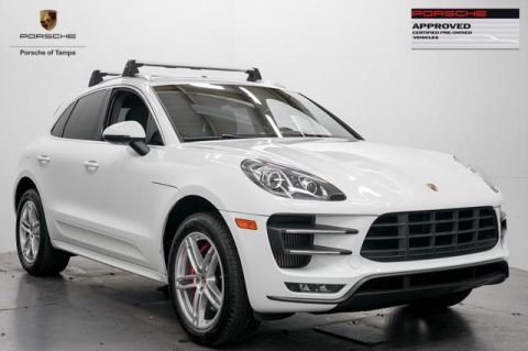 Certified Used Porsche Macan AWD 4dr Turbo