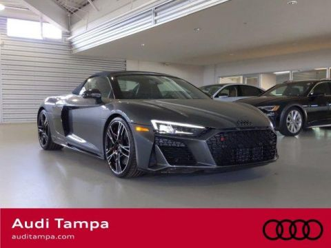 New 2020 Audi R8 Spyder V10 performance quattro With Navigation & AWD
