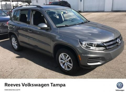 Certified Pre-Owned 2015 Volkswagen Tiguan 2WD 4dr Auto S