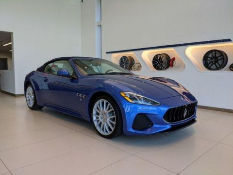 New 2019 Maserati GranTurismo Sport 4.7L With Navigation